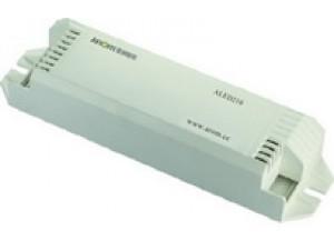 型号:ALED2700.2回路恒流PWM调光输出,每回路恒流700mA。将恒压电源转为恒流调光输出。适合于大功率恒流控制LED灯调光。需外接12-75V直流电源。具体电压与LED光源工作电压一致。高达16位调光精度,舒适柔和缓变的调光效果。