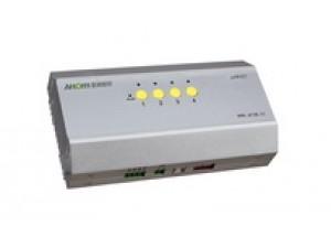 型号:ADW405.4回路5A继电器开关输出,可控制2个独立窗帘。软硬件正反转互锁。可控制窗帘停在任何位置。可设置正反转延时关闭时间。适用于控制电动窗帘、投影幕布、升降机等需正反转控制的设备