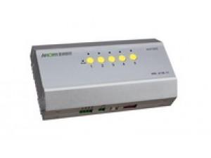5回路继电器开关输出,每回路电流5A,可独立控制1个中央空调。风速:高风、中风、低风 模式:制冷、制热、自动。适用于空调二管制、四管制水系统或风管道系统