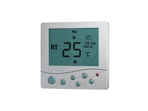 面板通过室内温度和设定温度相比较,经hs888.com总线发送指令到空调控制模块,对空调系统末端的风机盘管、电动阀、电动球阀或风阀进行开启和关闭控制、达到调节室内温度、舒适及节能的目的。
